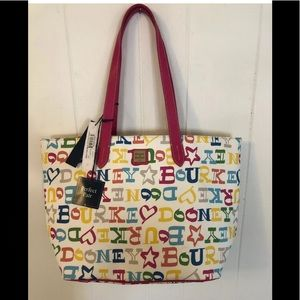 Dooney and Bourne large multi shopper and wristlet